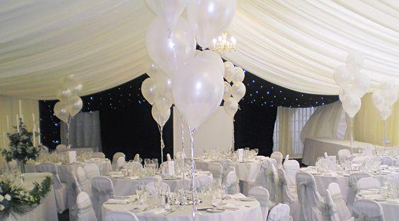 Resultado de imagen para wedding with balloons