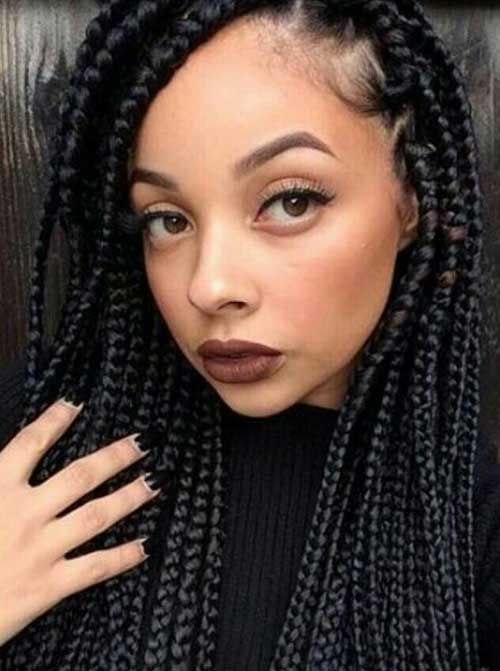 Usually Crochet Braids Hairstyles Pictures 2015 is popular in black women or…