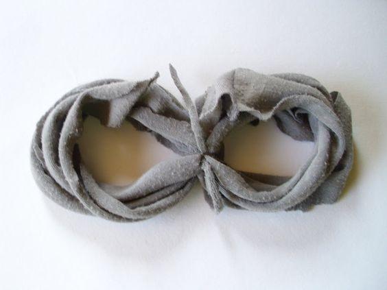 Шикозен шал от стара тениска | Art and Blog