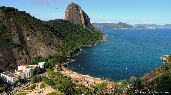 Pão de Açucar e Praia Vermelha - Sugar Loaf and Vermelha (Red) Beach - Rio de Janeiro - Brasil | Flickr: Intercambio de fotos
