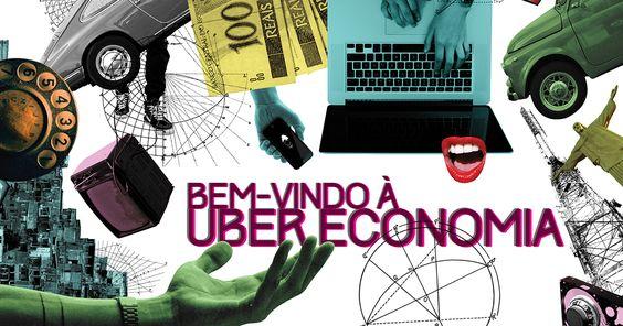Com novos modelos de negócio, aplicativos e startups revolucionam serviços e provocam mudanças na economia