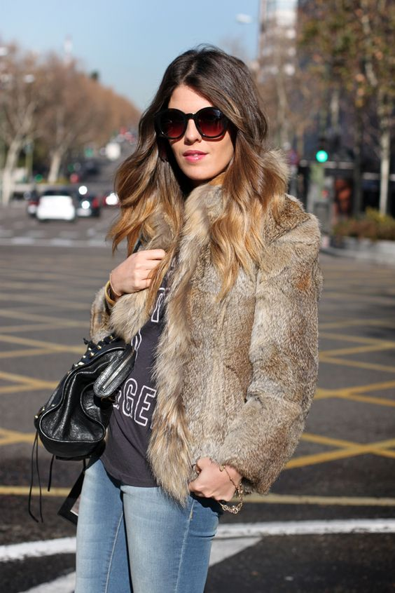 Real Rabbit Fur Coat - JacketIn