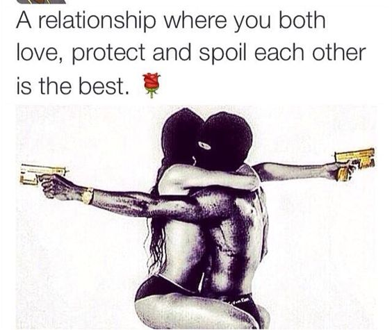 We do both love each other unconditionally.. And we spoil each other in many ways... Not by just materialistic things, but with love respect and the time we spend together all the time!!