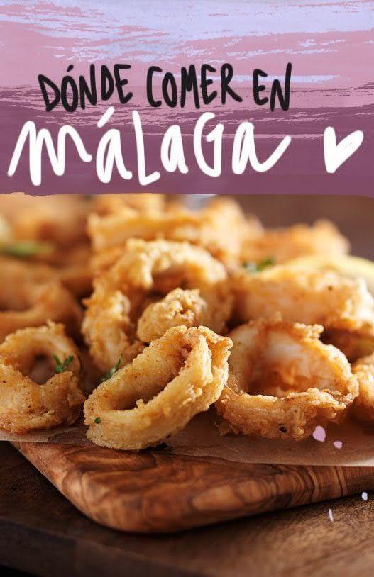 7 Restaurantes Donde Comer En Málaga Bien Y Barato España Comida Málaga Malaga Turismo
