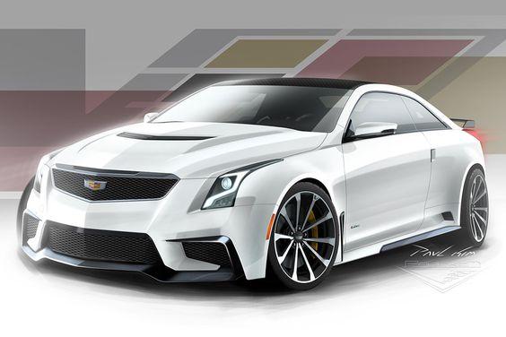 Cadillac Super ATS-V 001 by SeawolfPaul on DeviantArt