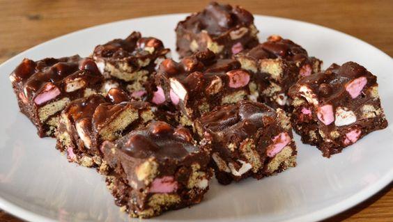No Bake Chocolate FridgeCake - Healthy, Tasty & Easy Recipes on a Budget - Gourmet Mum