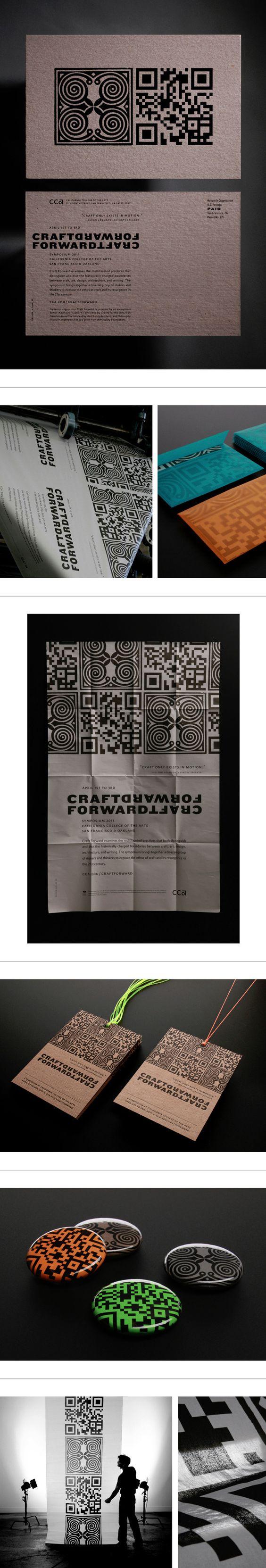 CCA Craft Forward Symposium Identity System