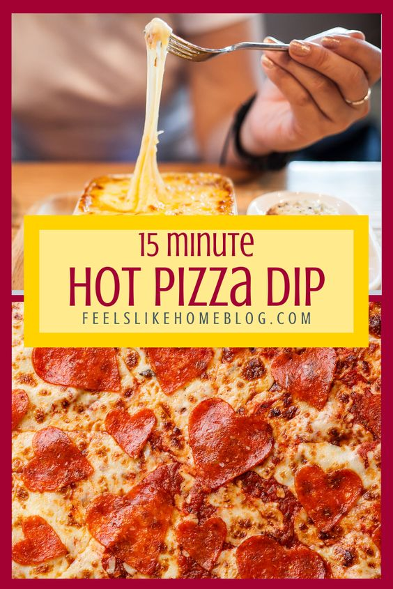 Hot Pizza Dip Recipe | Feels Like Home™