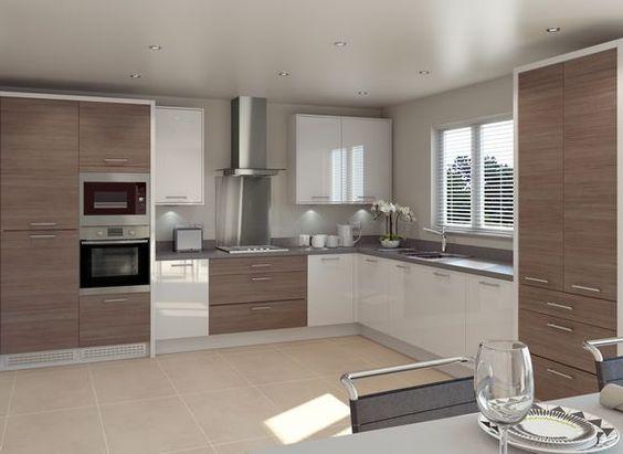 Woodbury Gloss White \ Minnesota Ideas for the House Pinterest - küchenzeile u form
