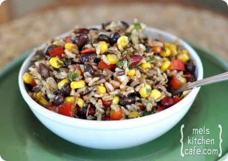 Confetti Rice and Bean Salad