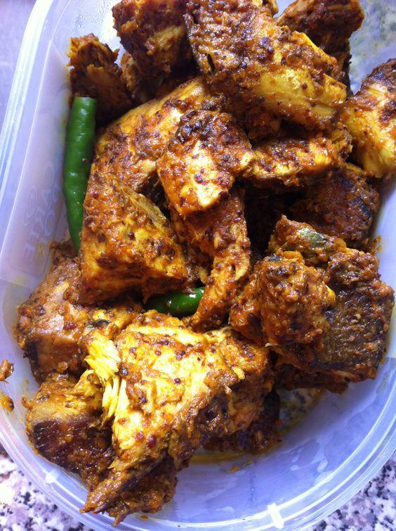 Vindaye de poisson cuisine hindo mauricienne maurice for Cuisine mauricienne