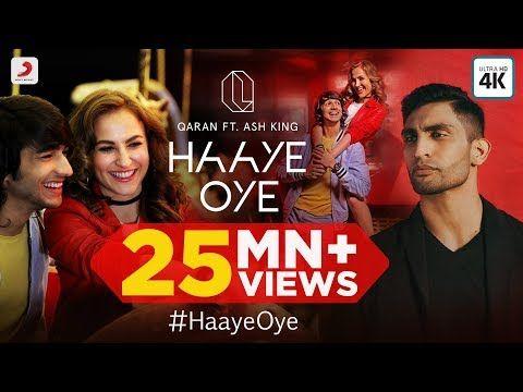 Haaye Oye Qaran Ft Ash King Elli Avrram Shantanu Maheshwari Vishal Handa Youtube Hollywood Songs Songs Sony Music Entertainment