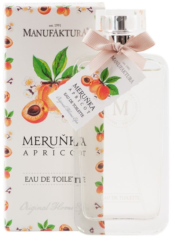 Meruňka : Dámská toaletní voda MERUŇKA