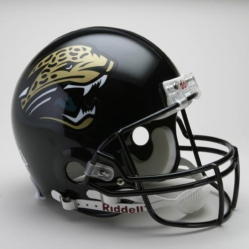Jacksonville Jaguars Helmet Riddell Authentic Full Size Vsr4 Style 1995 2012 Throwback Jaguars Helmet Football Helmets Jacksonville Jaguars