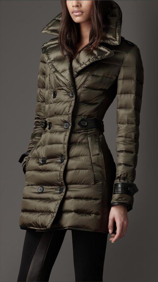 Down-Filled Pea Coat