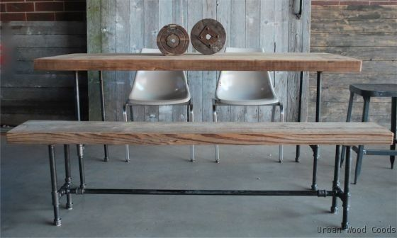 Custom Made Industry Dining Table