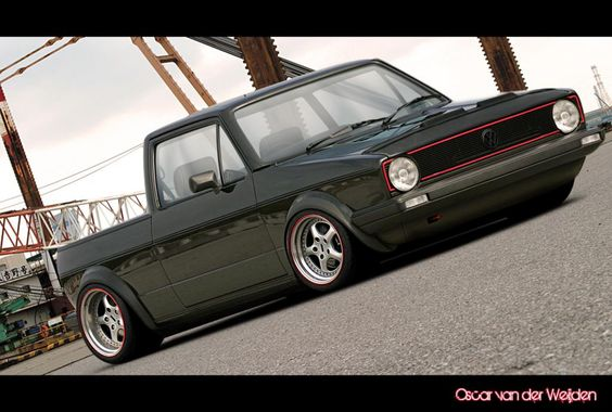 VW Rabbit A TRUCK Caddys