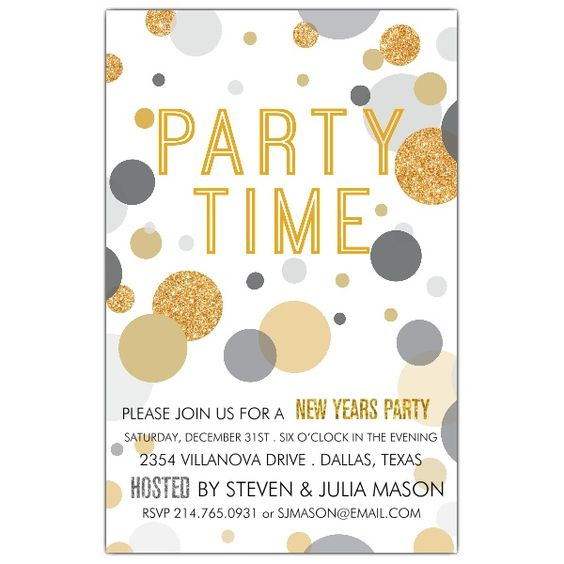 Party+Time+New+Years+Eve+Invitations