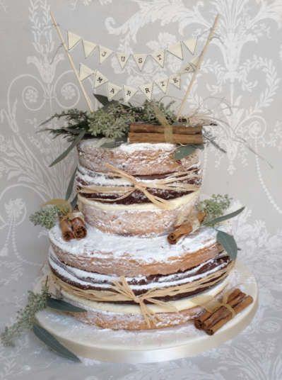 Autumnal Naked Cake | Wedding Cakes