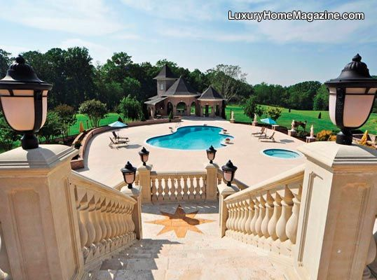 Luxury home magazine washington d c maryland northern for Pool design maryland