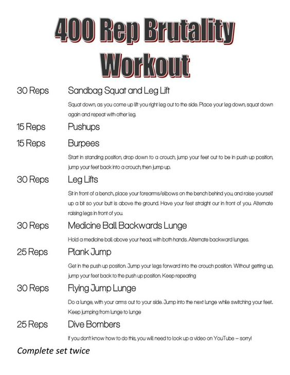 for those of you looking for an intense work out haha...this would still be a a really good routine if you were to do less reps
