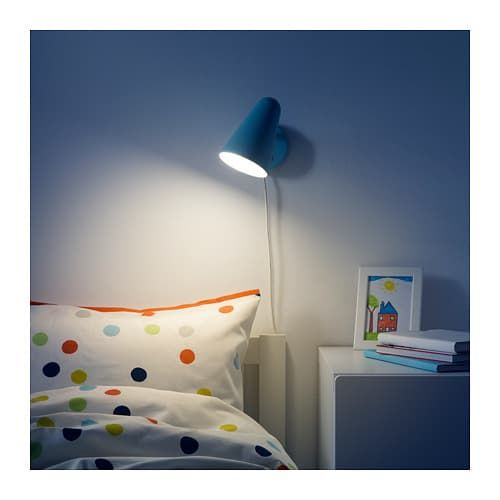 FUBBLA LED wall lamp, light turquoise light turquoise