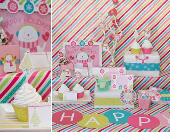 Happy Holidays - Free Printables