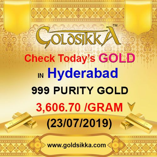 Price In Hyderabad Gold Goldprice