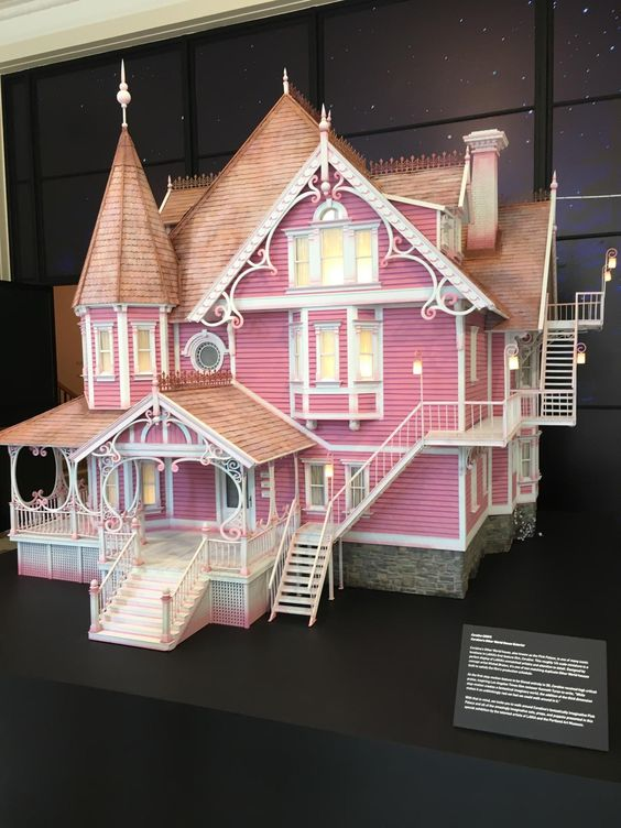 Visiting The Portland Art Museum At The Laika Exhibit And Saw The Actual House Used In Coraline Coraline Art Coraline Coraline Jones