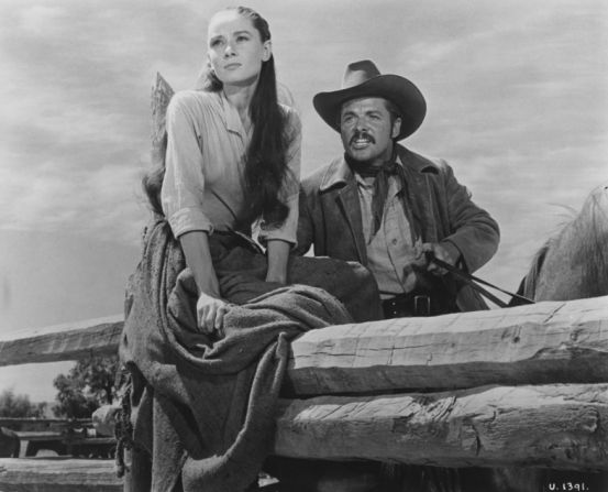 The Unforgiven with Audrey Hepburn & Audie Murphy