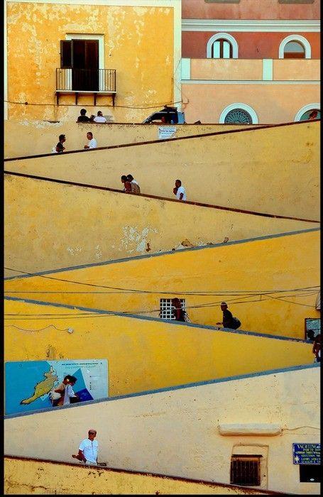 Ventotene, a little island off Rome, Italy
