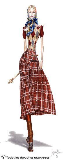 Pimenta no teu...é refresco!: As Ilustrações Fashionistas de Arturo Elena: