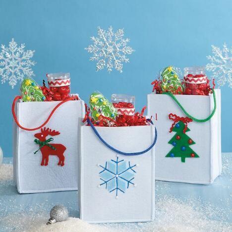 Christmas Icon Felt Bags $10.99           Now:$9.00