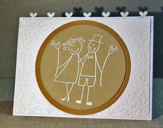 wedding card / Hochzeitskarte
