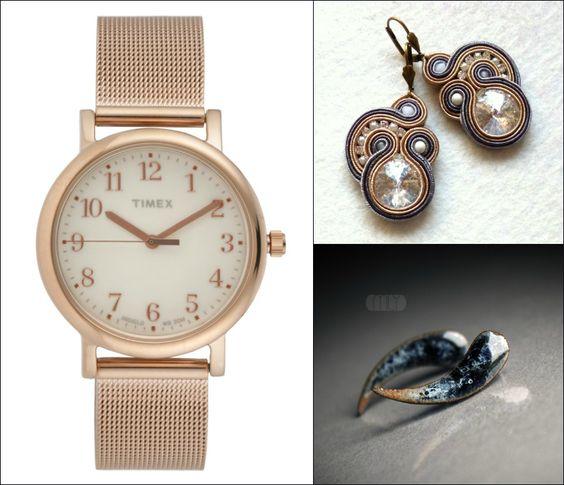 złoto, różowe złoto, stare złoto, nieprzytłaczająca wielkością biżuteria, połączenie chłodnych kolorów z ciepłymi np. złoty pierścionek z diamentem | Biżuteria dla typów urody | Ubieraj się klasycznie
