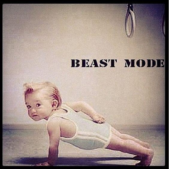 Fitspo, Beast mode and Little man on Pinterest