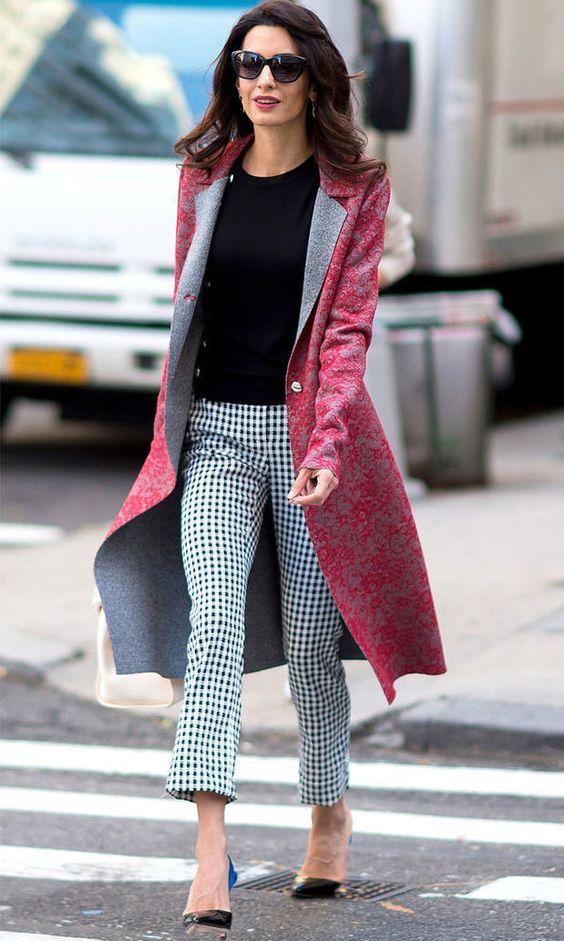 Деловая женщина: берём на заметку секреты стиля Амаль Клуни