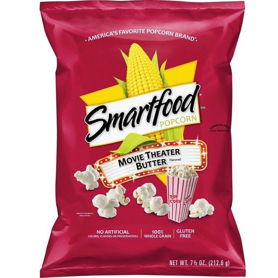 Smartfood Movie Theater Butter Popcorn 7 5oz Butter Popcorn Smartfood Popcorn Flavored Popcorn