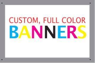 Make a BIG IMPRESSION!!! We Print Banners!  Need a banner for your business or event? Whether you need an outdoor banner, one for inside, a small one, or a HUGE one, give us a call! Need one super fast? We're definitely the people to contact! Call me today, Kristy Ball at 908-232-7770 x213.