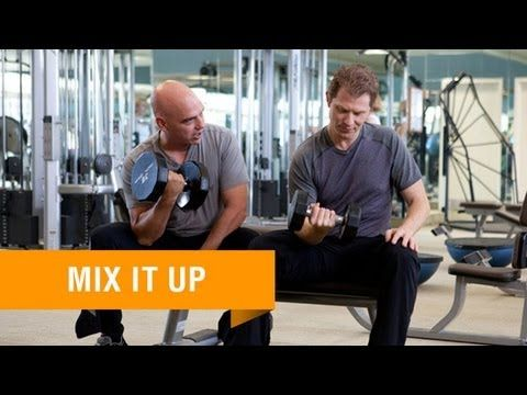 WATCH: Mix up your workout routine and see better results with tips from Bobby Flay and Michael Symon. #BobbyFlayFit