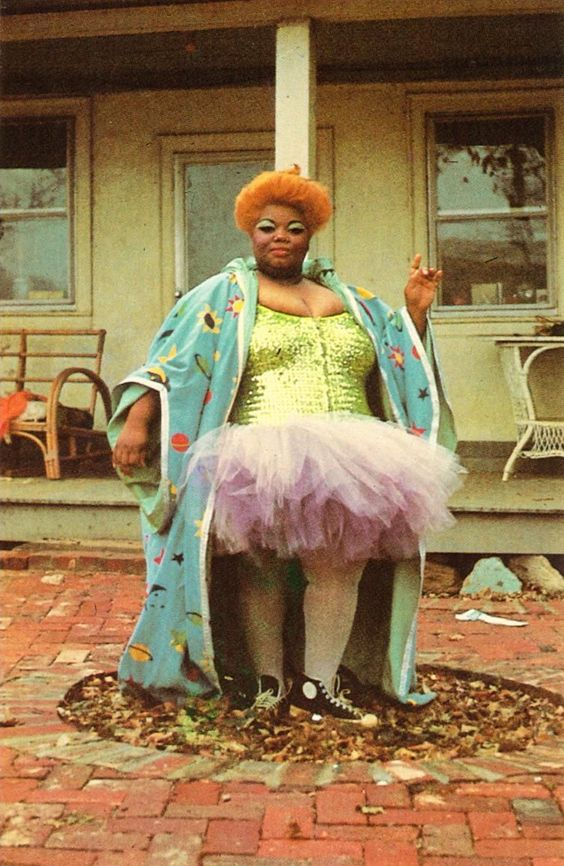 Jean Hill (as Grizelda Brown) in John Waters' Desperate Living, 1977