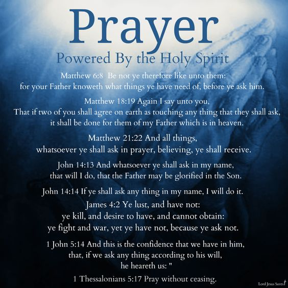Prayer Holy Spirit: