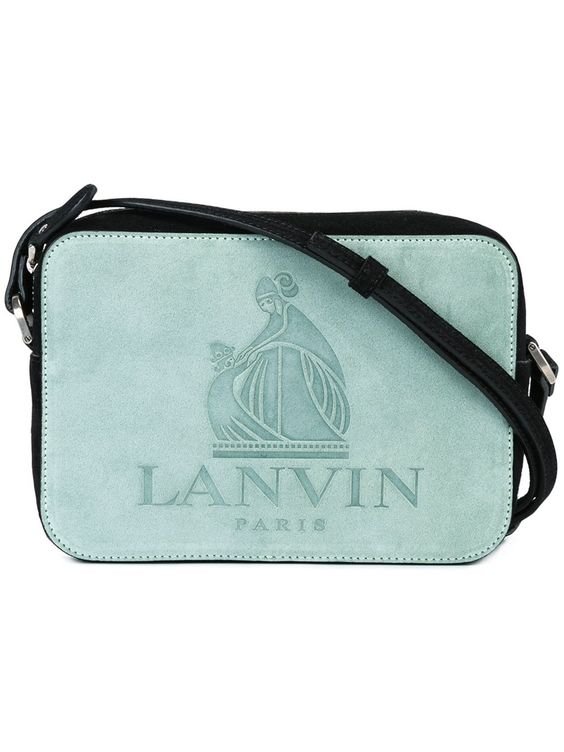 Lanvin Nomad in Pale Green Suede