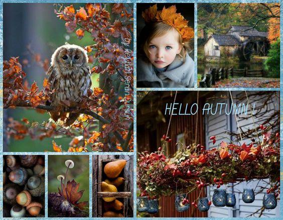 '' Hello Autumn '' by Reyhan Seran Dursun: