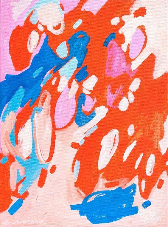 Emily Rickard Fine Art, Smitten Print