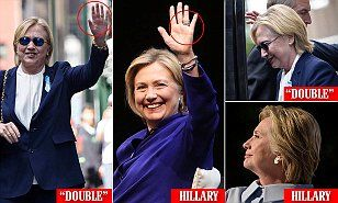 Does Hillary have a BODY DOUBLE? Bizarre conspiracy theory claims the…
