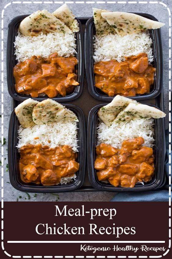 Meal Prep Chicken Recipes Makanan Sehat Ide Makanan Makan Siang