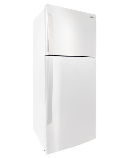 أبيض 14 7 قدم Lg ثلاجة Kitchen Home Top Freezer Refrigerator