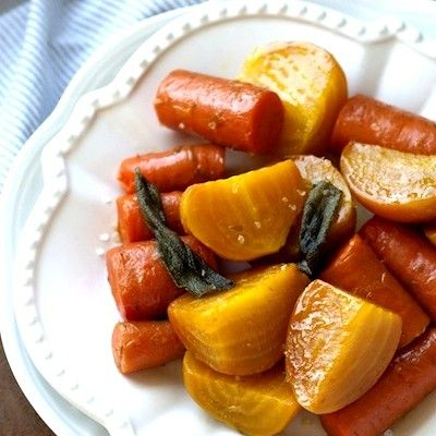 Try these roasted beets with carrots, cooked alongside sage, garlic, rosemary and a secret ingredient to bring out their natural sweetness.