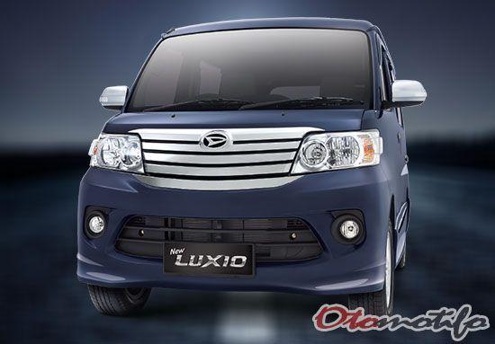 Harga Daihatsu Luxio 2020 Spesifikasi Interior Gambar Dengan